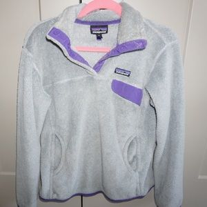 Grey & Purple Size Medium Patagonia Jacket